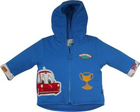 FS Mini Klub Full Sleeve Solid Baby Boys Jacket