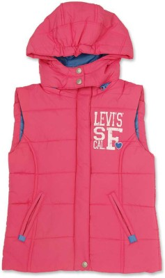Levi's Sleeveless Solid Girl's Jacket