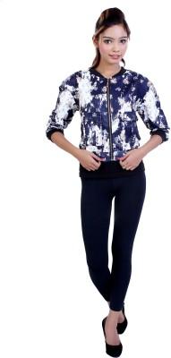 Ameri Full Sleeve Printed Women's Jacket