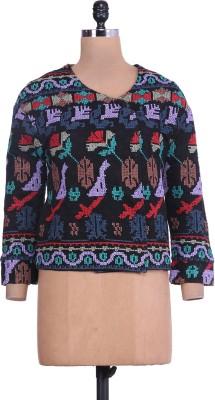 Reme Full Sleeve Printed Women's Jacket