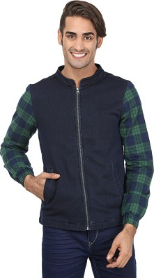 United Colors of Benetton Full Sleeve Checkered Mens Jacket