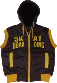 SAS Sleeveless Printed Boys Jacket