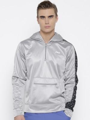 Fila Full Sleeve Solid Men's Jacket
