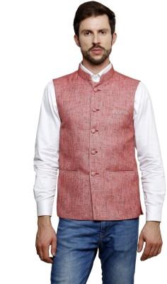 Tatkim Sleeveless Solid Men's Jacket