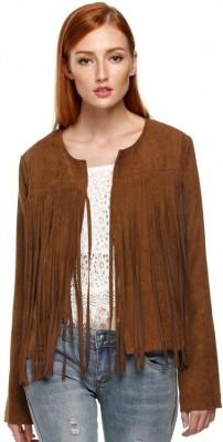 Santana Fashion Full Sleeve Solid Women's Jacket