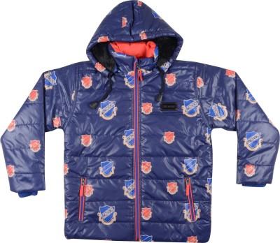 Okane Full Sleeve Printed Boy,s Jacket
