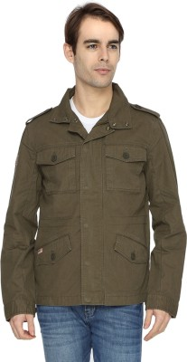 Wrangler Full Sleeve Solid Men's Jacket