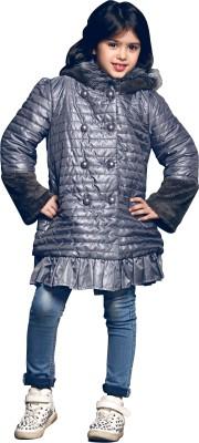 Kay Ti Kids Full Sleeve Solid Girl's Jacket