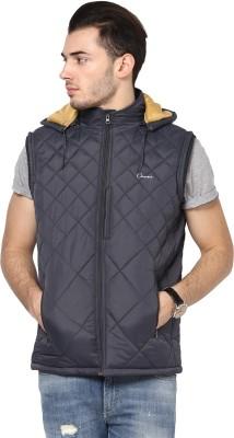 Orewa Sleeveless Self Design Men's Quilted Jacket