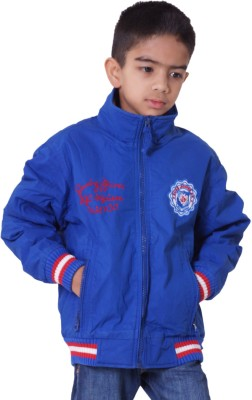 Little Bugs Full Sleeve Solid Baby Boys Quilted Jacket
