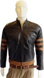 Tab Fashion Full Sleeve Solid Men's Leat...