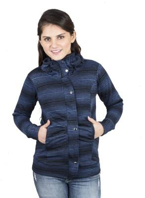 Kaaf Fashion Full Sleeve Striped Women's Jacket
