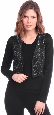 Sassafras Full Sleeve Solid Women's Jacket