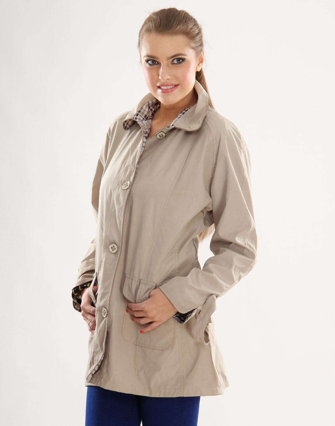 Sportelle USA India Full Sleeve Solid Womens Jacket