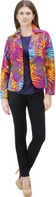 Zoae Full Sleeve Printed Women's Jacket
