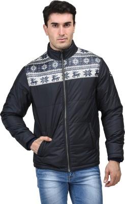 Mettle Full Sleeve Self Design Men's Jacket
