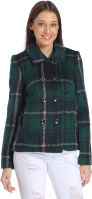 Vero Moda Full Sleeve Checkered Womens Jacket