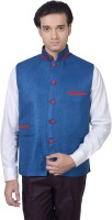 Amafhh Sleeveless Solid Mens Nehru Jacket