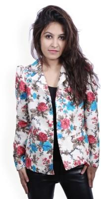 Fadjuice Full Sleeve Floral Print Women's Jacket