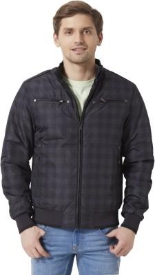 Peter England Full Sleeve Checkered Men's Jacket