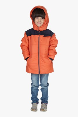 Beebay Full Sleeve Solid Boy's Quilted Jacket