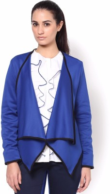 Kaaryah Full Sleeve Solid Women's Drape Jacket