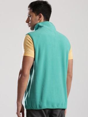 HRX by Hrithik Roshan Sleeveless Solid Men's Jacket