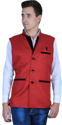 UNO COTTON Sleeveless Solid Men's Jacket