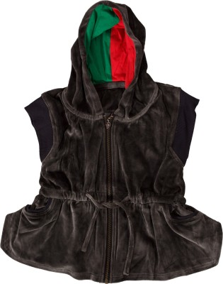 Textures Fashion Sleeveless Solid Boy's Jacket