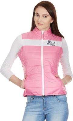 American Swan Sleeveless Solid Women's Jacket