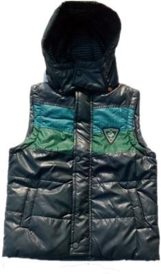 Peridot Club Half Sleeve Solid Boy's Jacket