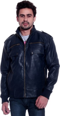 TAG-7 Full Sleeve Solid Men's Jacket