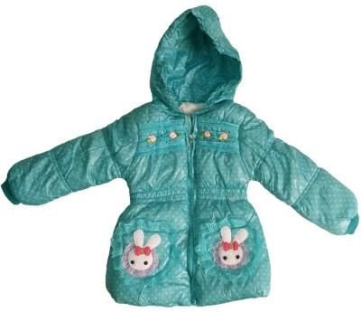 Fusion Fashion Full Sleeve Printed Girl's Quilted Jacket