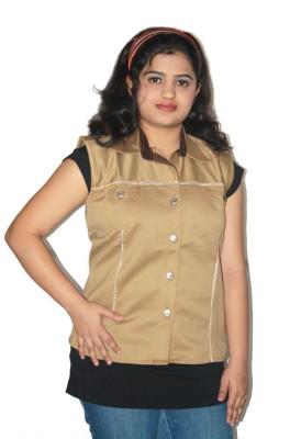 Lolaski Sleeveless Striped Women's Jacket