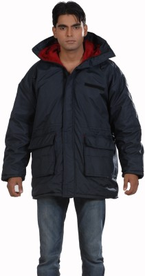 Ice Bear Full Sleeve Solid Men's Jacket