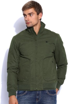 Lee Full Sleeve Solid Men's Jacket