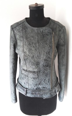 Roving Craft Full Sleeve Self Design Women's Jacket
