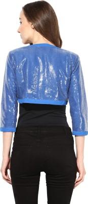 The Vanca Half Sleeve Solid Womens Jacket