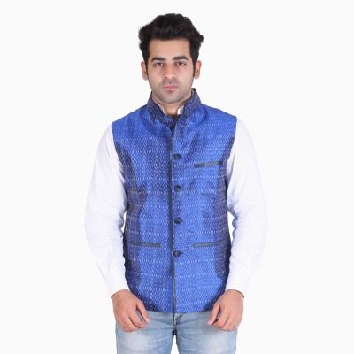 Indian Artizans Sleeveless Woven Men's Jacket