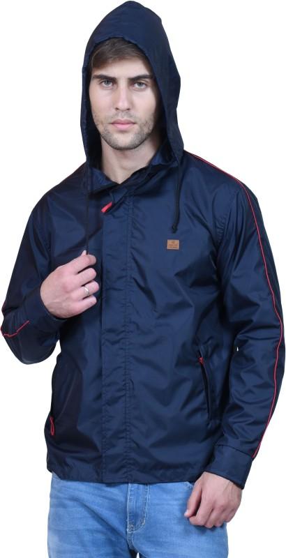 Forest Club Full Sleeve Solid, Self Design Men's Jacket