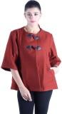 Owncraft Solid Women's Anorak Jacket