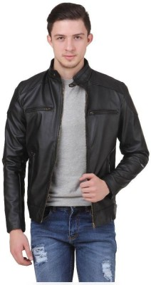 Aazo Full Sleeve Solid Men's Jacket