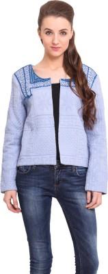 Ama Bella Full Sleeve Self Design Women's Jacket