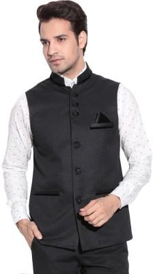 MAKHKHA Sleeveless Solid Men,s Jacket