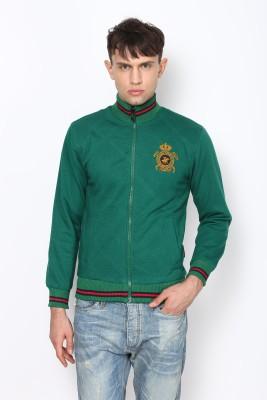Okane Full Sleeve Self Design Men,s Jacket