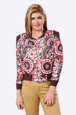 Glam & Luxe Full Sleeve Printed Women's Jacket