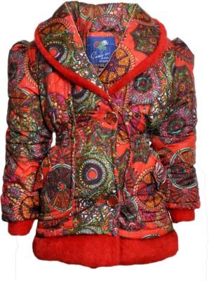 Come In Kids Full Sleeve Self Design Girl,s Jacket