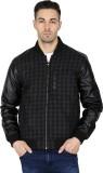 T-Base Full Sleeve Checkered Men's Jacke...