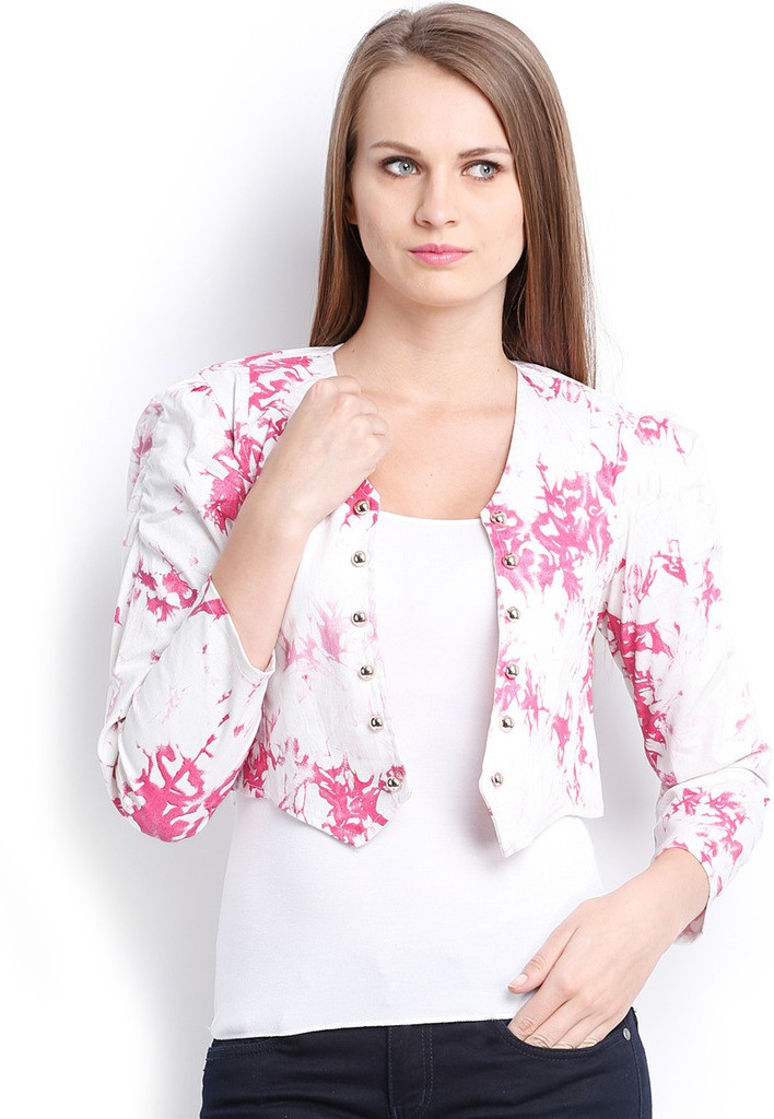 Ten on Ten Printed Womens Summer Jacket