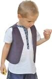 Aummade Sleeveless Solid Boys Jacket
